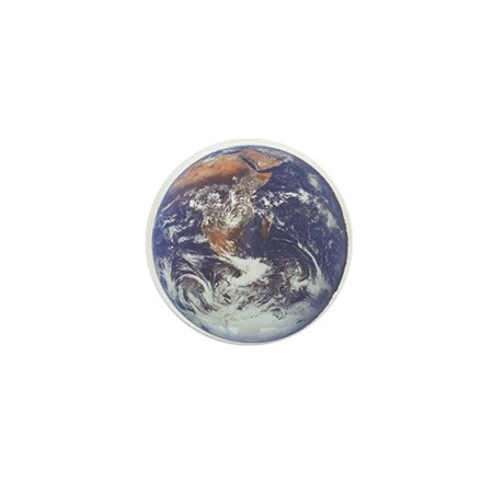 Earth Mini Button (100 pack)