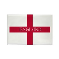 PC English Flag - English Anglica Rectangle Magnet
