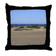 sand dunes mousemat Throw Pillow