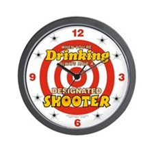 Cute Shooters Wall Clock