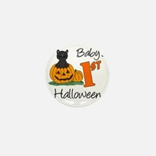 Babys First Halloween Mini Button