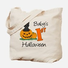 Babys First Halloween Tote Bag