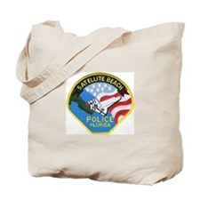 Satellite Beach Police Tote Bag