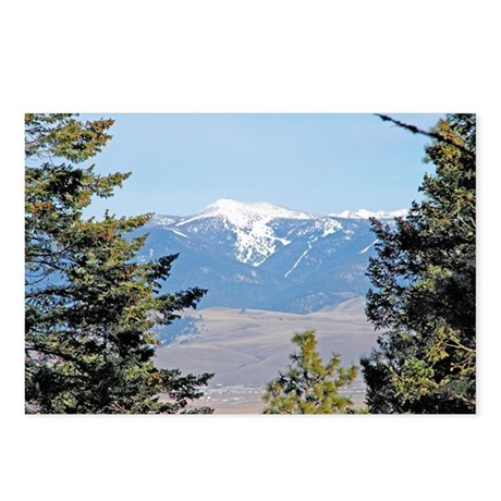 Missoula, MT area Postcards (Package of 8)