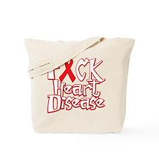 Fuck-Heart-Disease-blk Tote Bag