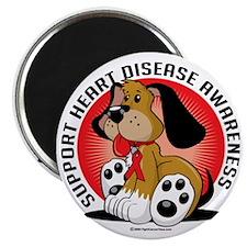 Heart-Disease-Dog Magnet