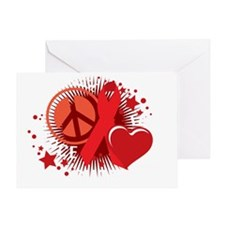 Heart-Disease-PLC-blk Greeting Card