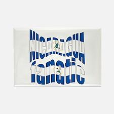 Nicaraguan flag proud Rectangle Magnet