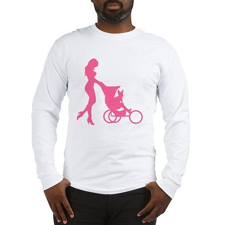 2-mybaby_pink_l Long Sleeve T-Shirt