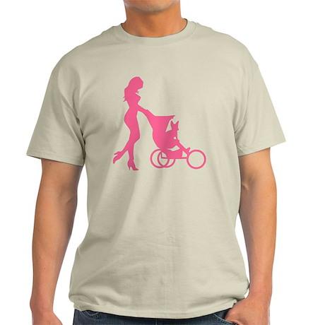 2-mybaby_pink_l Light T-Shirt