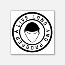 "livelong3 Square Sticker 3"" x 3"""