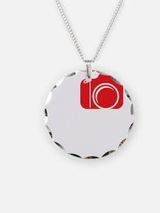 I Shoot EF (Canon) Photo Whi Necklace