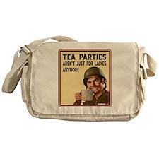 tea_party_b Messenger Bag