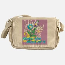 Lifes Good 05 Messenger Bag