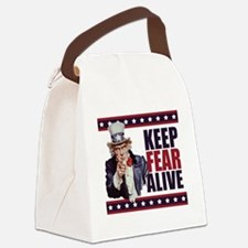 Uncle-Sam---Keep-Fear-Alive1 Canvas Lunch Bag