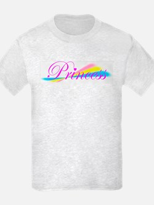 Rainbow Princess Kids T-Shirt
