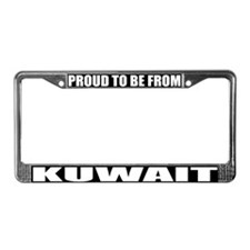 Kuwait License Plate Frame