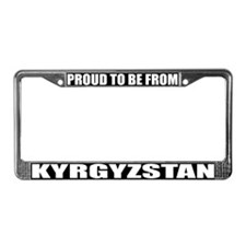 Kyrgystan License Plate Frame