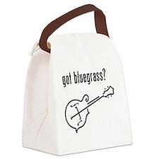 got bluegrass - mandolin Canvas Lunch Bag