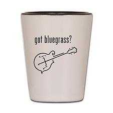 got bluegrass - mandolin Shot Glass