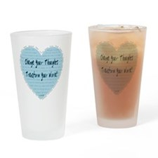 heart change Drinking Glass