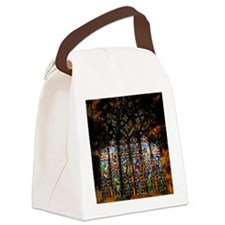 christ church cathedral window 2 Canvas Lunch Bag