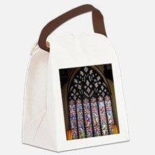 west window christ church cathedr Canvas Lunch Bag