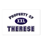 Property of therese Postcards (Package of 8)