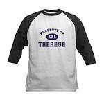 Property of therese Kids Baseball Jersey