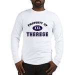 Property of therese Long Sleeve T-Shirt