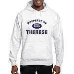 Property of therese Hooded Sweatshirt