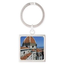 2-florence 14x10_print(V) Square Keychain