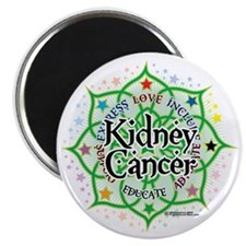 Kidney-Cancer-Lotus Magnet