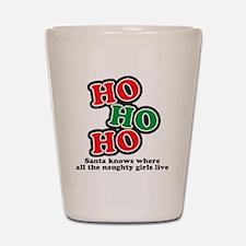 hohoho Shot Glass