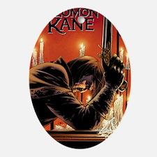 Solomon Kane cover Oval Ornament