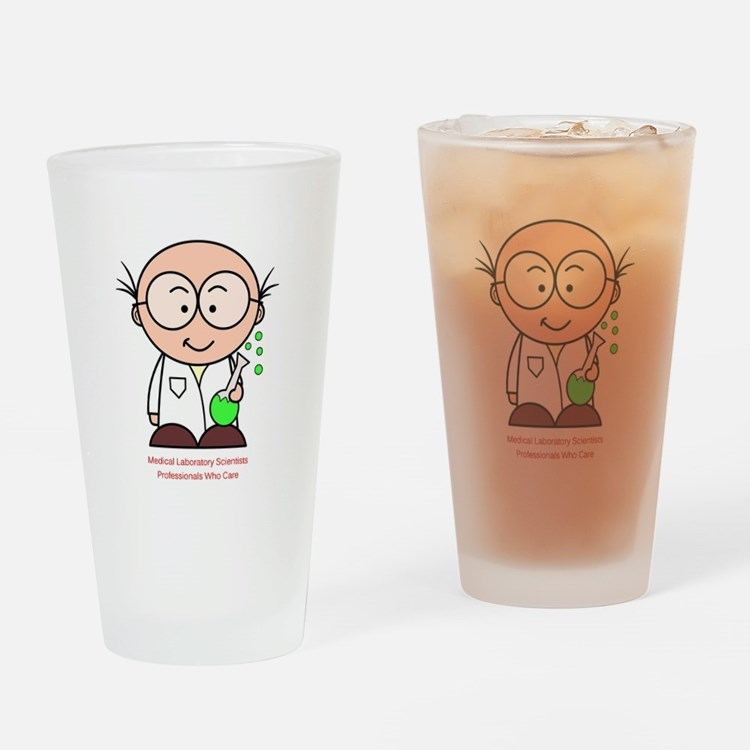 Medical Laboratory Professionals Drinking Glass