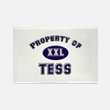 Property of tess Rectangle Magnet