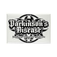 Parkinsons-Tribal Rectangle Magnet