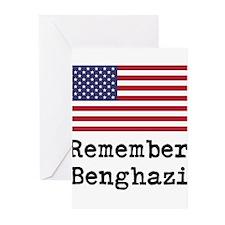 Remember Benghazi Greeting Cards