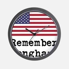 Remember Benghazi Wall Clock