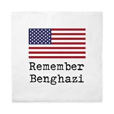 Remember Benghazi Queen Duvet