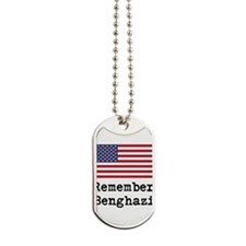 Remember Benghazi Dog Tags