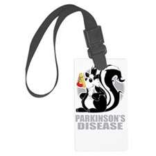 Parkinsons-Disease-Stinks-blk Luggage Tag