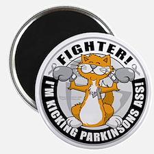 Parkinsons-Fighter-Cat Magnet