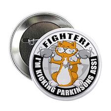 "Parkinsons-Fighter-Cat 2.25"" Button"