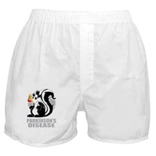 Parkinsons-Disease-Stinks-blk Boxer Shorts