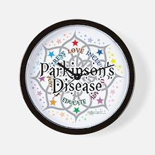 Parkinsons-Lotus Wall Clock