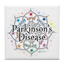 Parkinsons-Lotus Tile Coaster