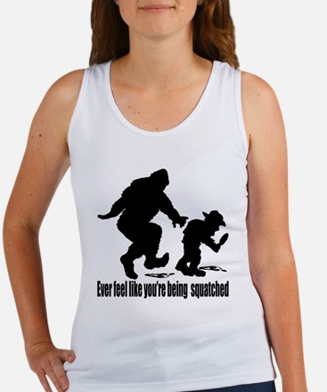 You're being squatched Women's Tank Top
