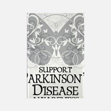 Parkinsons-Butterfly-A Rectangle Magnet